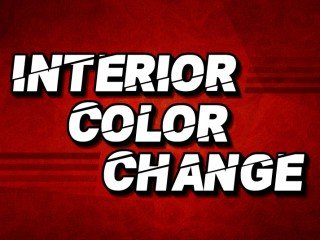 Interior Color Change
